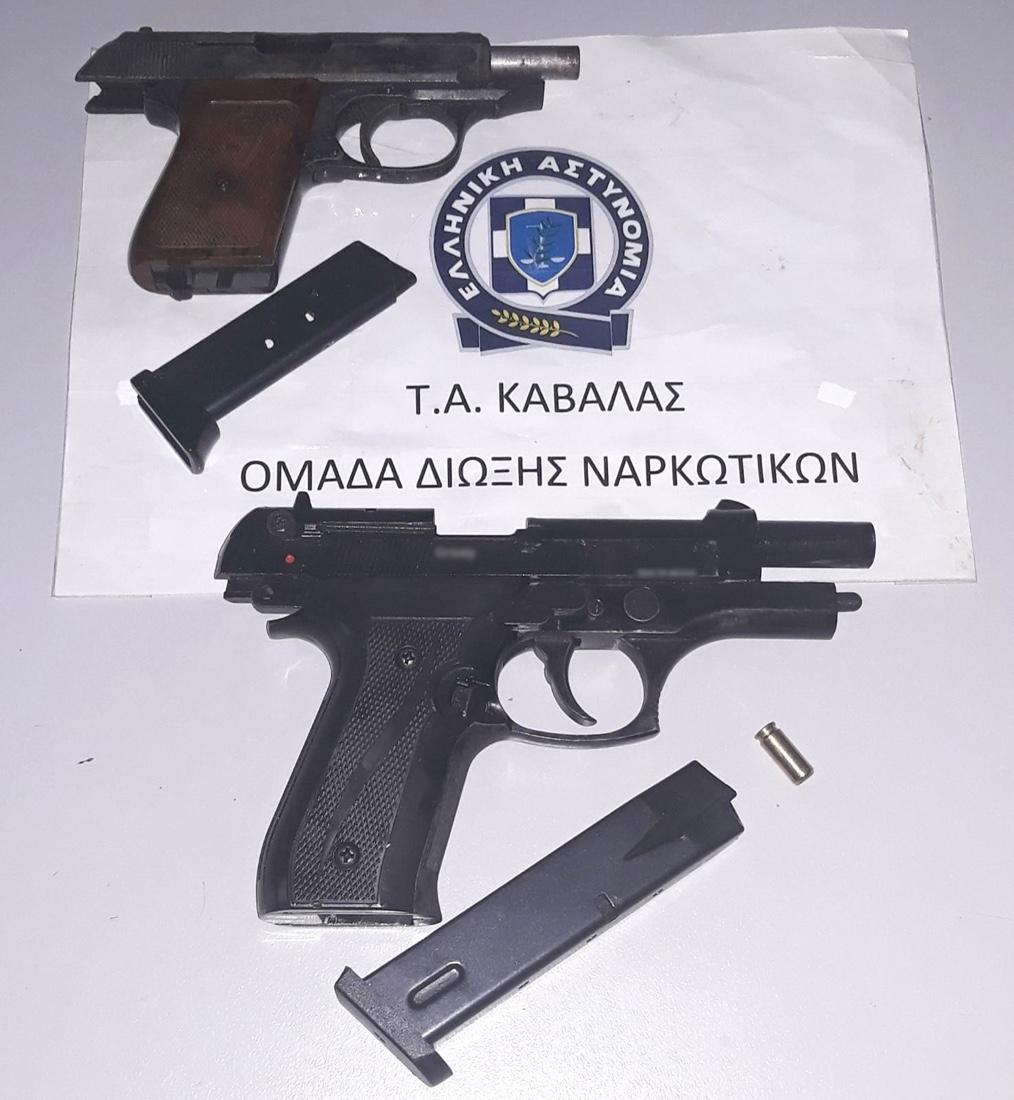 Συνελήφθη-στη-Καβάλα-για-παράνομη-κατοχή-όπλων