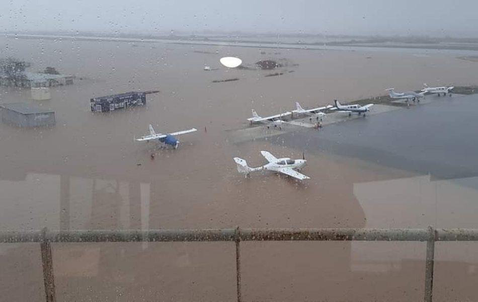 Μεγάλες-ζημιές-στο-αεροδρόμιο-Αλεξανδρούπολης-από-τις-πλημμύρες