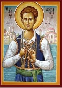 Ο-Άγιος-Νεομάρτυρας-Ιωάννης-ο-Θάσιος-στο-επετειακό-μετάλλιο-της-Εκκλησίας-της-Ελλάδος-για-τα-200-χρόνια-απο-της-Επαναστάσεως-του-1821