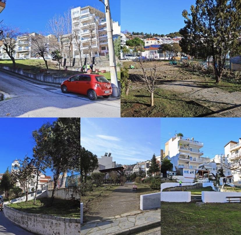 Ευπρεπισμός-πάρκων-και-κοινοχρήστων-χώρων-απο-τον-Δήμο-Καβάλας-σε-διάφορα-σημεία-της-πόλης