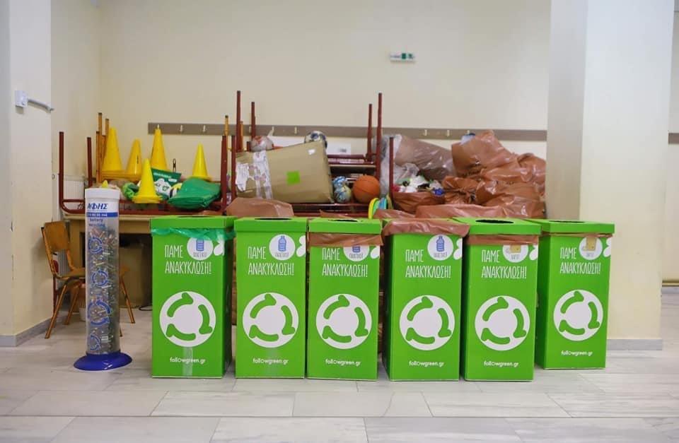 Ζύγιση-ανακυκλώσιμων-υλικών-απο-τα-Δημοτικά-σχολεία-του-Δήμου-Καβάλας