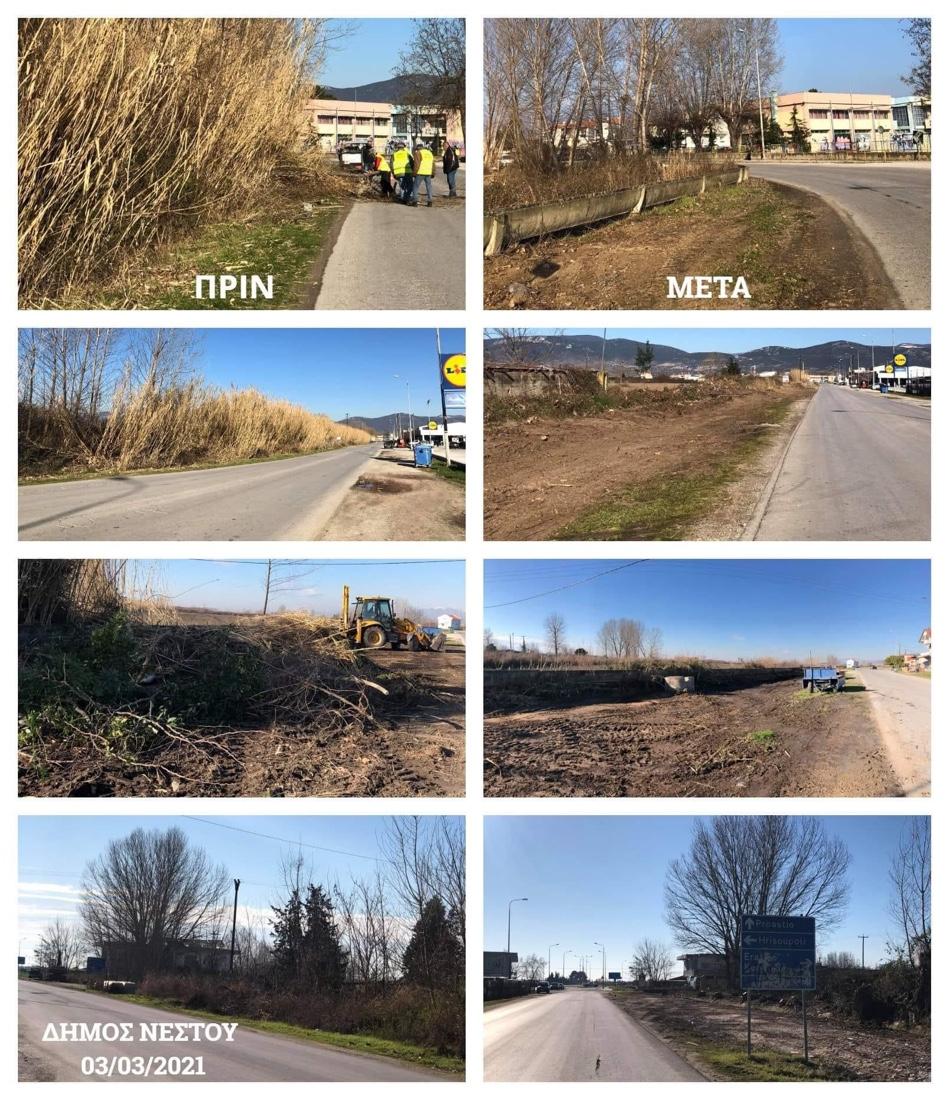 Στους-δρόμους-οι-υπηρεσίες-καθαριότητας-και-πρασίνου-του-Δήμου-Νέστου