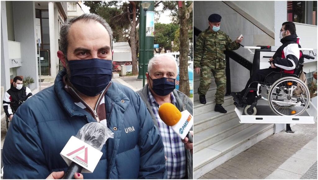 Εγκαταστάθηκε-αναβατόριο-για-άτομα-με-αναπηρία-και-απόμαχους-στη-Λέσχη-Αξιωματικών-Φρουράς-Αλεξανδρούπολης