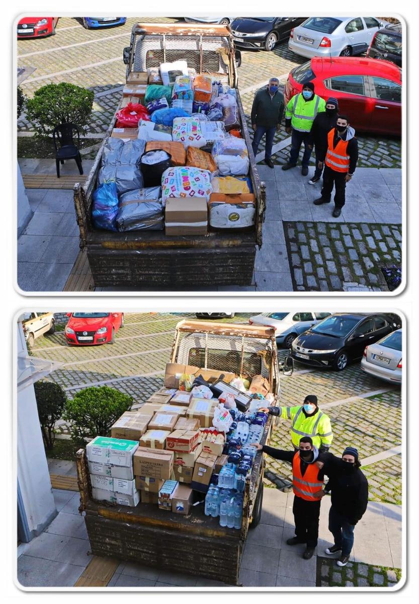Δυο-(2)-φορτηγά-συγκέντρωσαν-οι-Καβαλιώτες-με-ανθρωπιστική-βοήθεια-για-τους-σεισμόπληκτους-της-Ελασσόνας