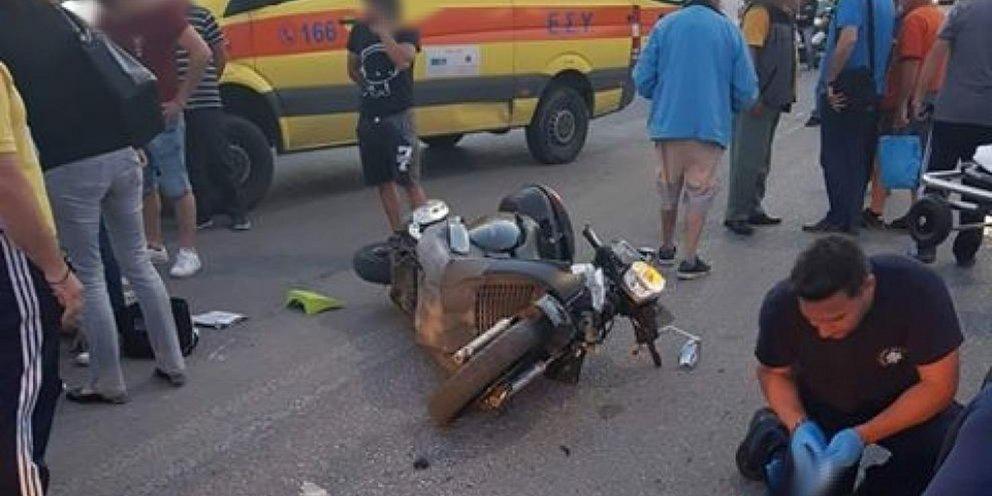 Τροχαίο-ατύχημα-στην-οδό-Ερυθρού-Σταυρού-Τραυματίστηκε-56χρονη