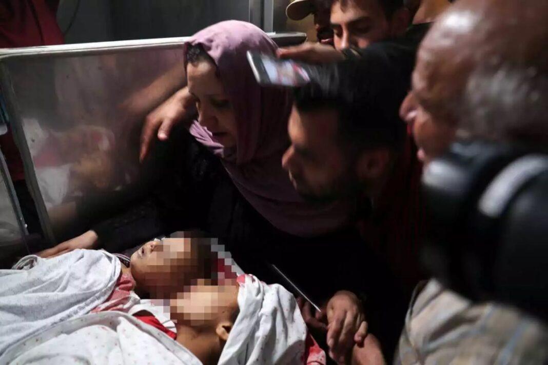 Μακελειό-στη-Γάζα:-Τουλάχιστον-20-παλαιστίνιοι-νεκροί-εκ-των-οποίων-9-παιδιά