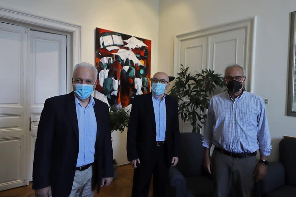 Επίσκεψη-του-Υφυπουργού-Εξωτερικών,-Κώστα-Φραγκογιάννη,-στο-Δημαρχείο-Καβάλας