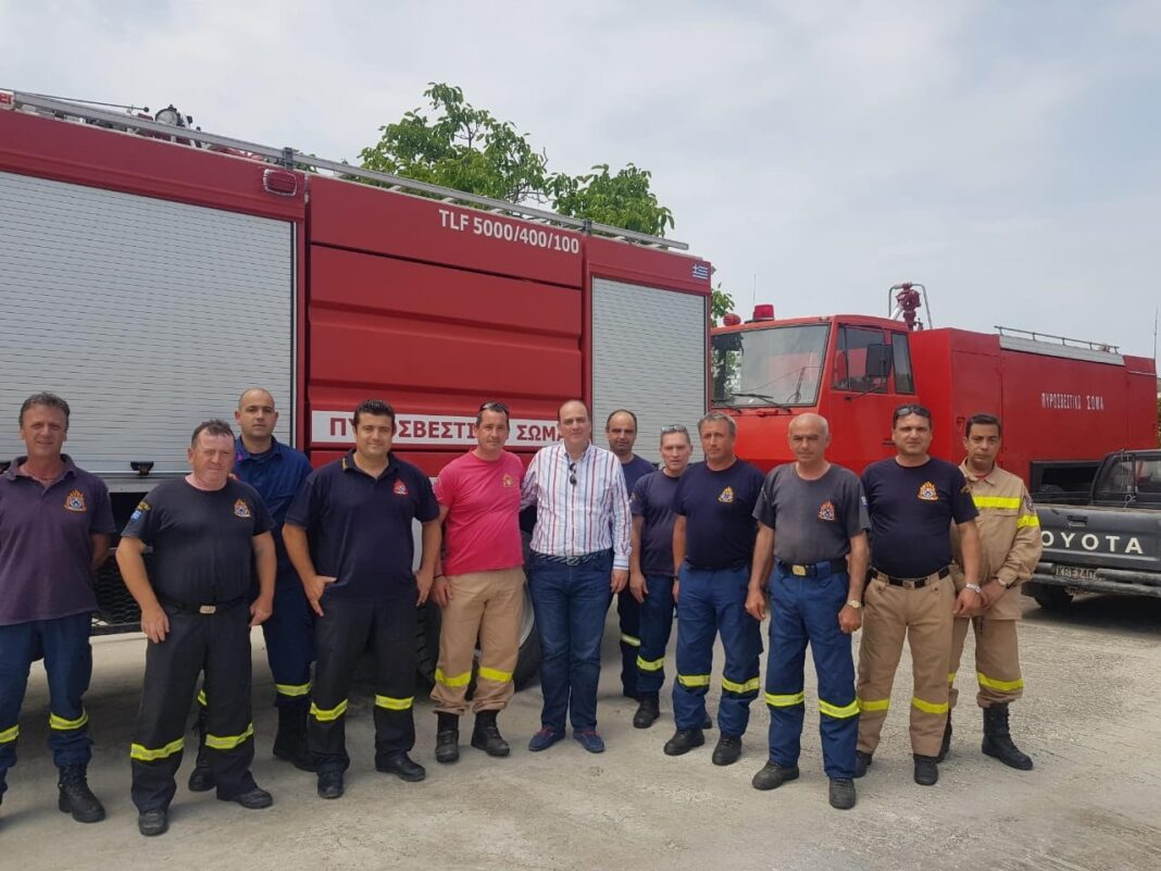 Μακάριος-Λαζαρίδης:-Να-αναβαθμιστεί-το-Πυροσβεστικό-Κλιμάκιο-Θάσου-σε-Πυροσβεστική-Υπηρεσία