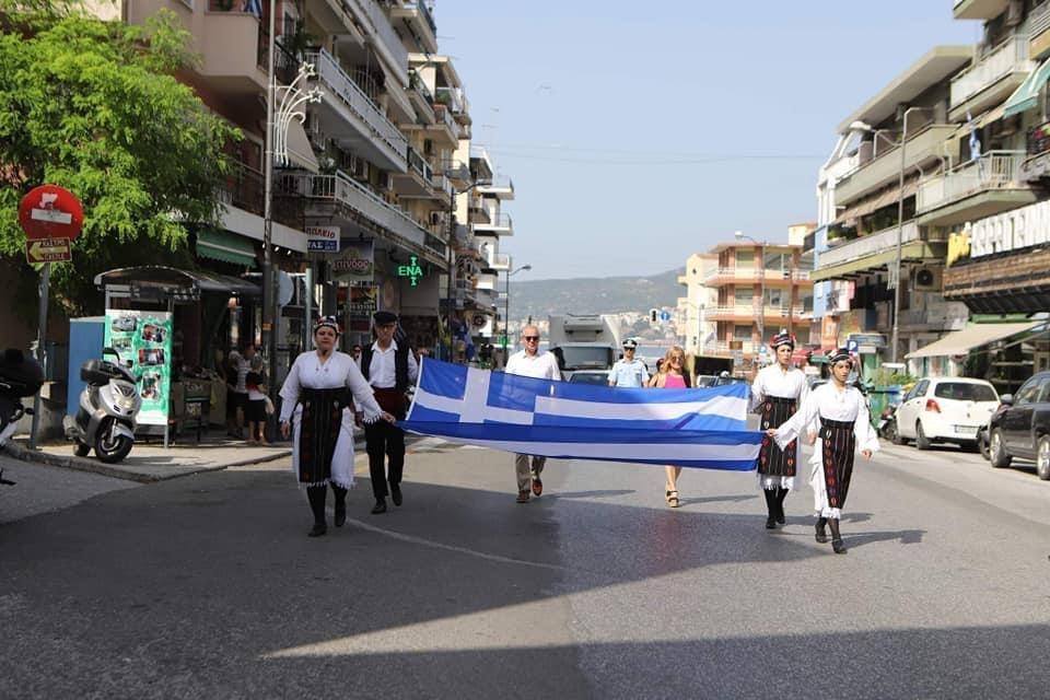 ΔΗΜΟΣ-ΚΑΒΑΛΑΣ-/-ΕΛΕΥΘΕΡΙΑ-2021:-Έπαρση-σημαίας-στις-Καμάρες,-πλησίον-του-πρώην-Διοικητηρίου-Καβάλας