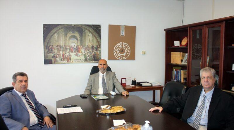 Επίσκεψη-του-Προέδρου-του-ΔΙΠΑΕ-στην-Πανεπιστημιούπολη-Καβάλας