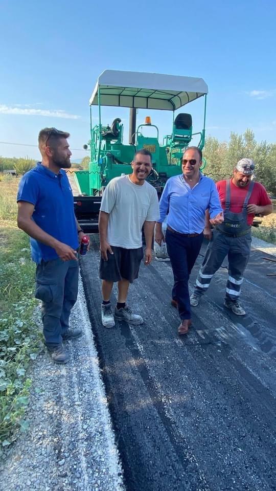Ολοκληρώθηκε-το-έργο-αγροτική-οδοποιΐα-Δήμου-Παγγαίου