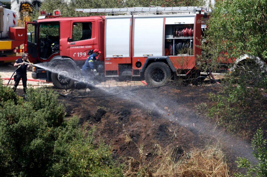 Υπό-πλήρη-έλεγχο-τέθηκε-η-φωτιά-στην-περιοχή-Καλύβια-Θάσου