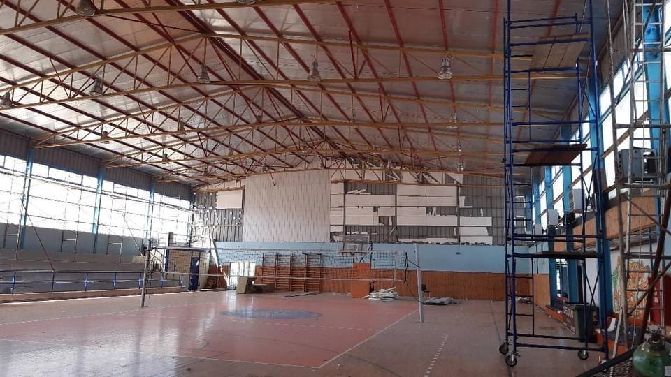 Συνεχίζονται-απο-τον-Δήμο-Καβάλας-οι-εργασίες-ενεργειακής-αναβάθμισης-του-κλειστού-γυμναστηρίου-Αμυγδαλεώνα