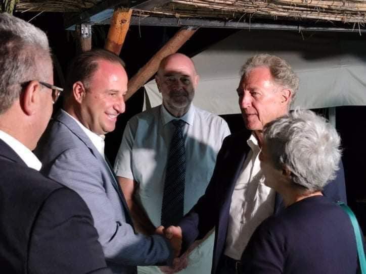 Συνάντηση-του-Δημάρχου-Παγγαίου-με-τον-Γερμανό-Υφυπουργό-Οικονομικής-Συνεργασίας-και-Ανάπτυξης