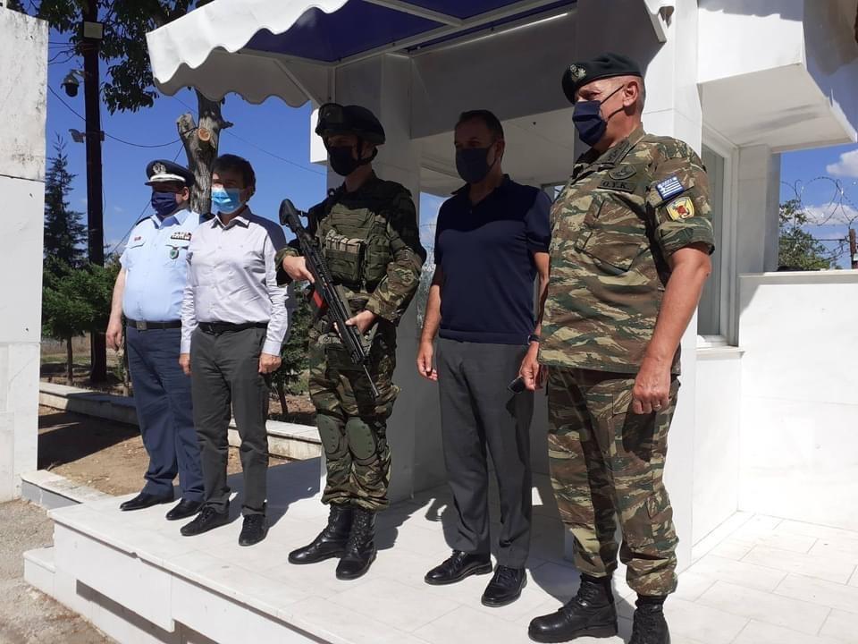 Παναγιωτόπουλος-και-Χρυσοχοΐδης-στον-Έβρο:-«Τα-σύνορα-της-Ελλάδας-θα-παραμείνουν-ασφαλή-και-απαραβίαστα»