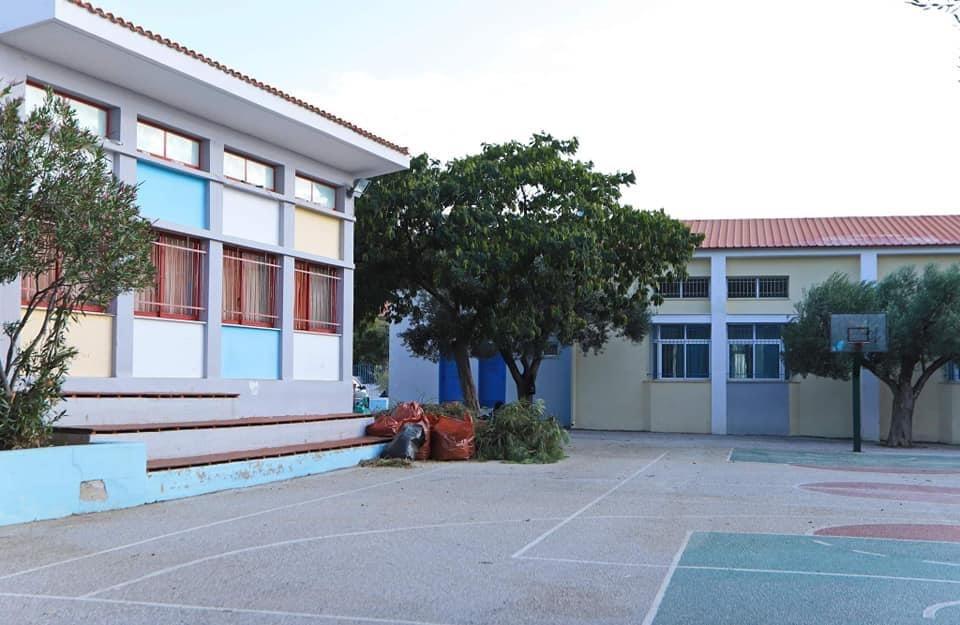 Ολοκληρώθηκε-ο-καθαρισμός-των-προαύλιων-χώρων-των-σχολείων-του-Δήμου-Καβάλας