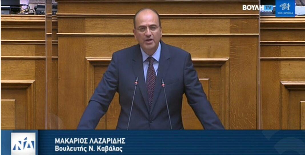 Μακάριος-Λαζαρίδης:-Η-συμφωνία-Ελλάδας-–-Γαλλίας-είναι-μια-συμφωνία-για-την-οποία,-όποιος-αισθάνεται-Έλληνας,-είναι-περήφανος