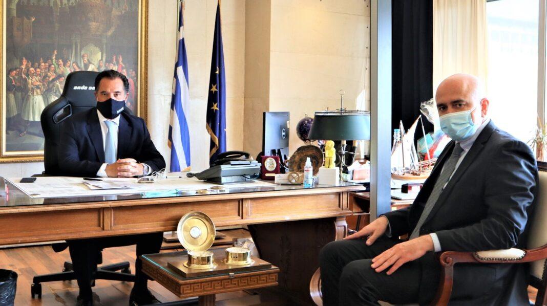 Επιπλέον-12288-επιχειρήσεις-της-Ανατολικής-Μακεδονίας-–-Θράκης-χρηματοδοτούνται-από-το-ΕΣΠΑ-–-Συνεργασία-του-Υπουργού-Ανάπτυξης-&-Επενδύσεων,-Α-Γεωργιάδη-με-τον-Περιφερειάρχη,-Χρ.-Μέτιο